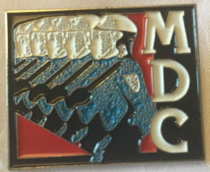 MDC LP ENAMEL BADGE