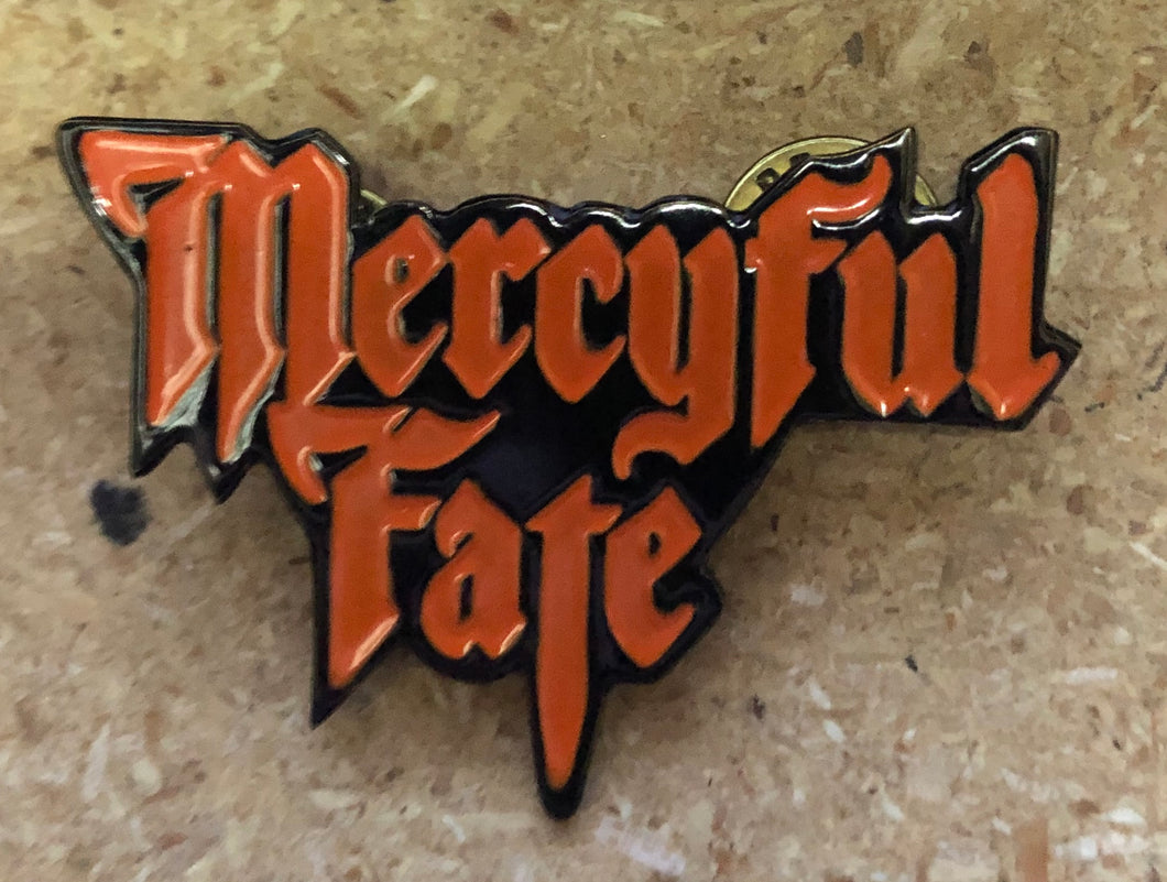 MERCYFUL FATE ENAMEL BADGE