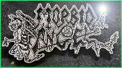 MORBID ANGEL LOGO METAL BADGE