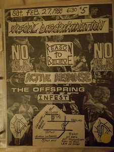 $20 PUNK FLYER - OFFSPRING INFEST