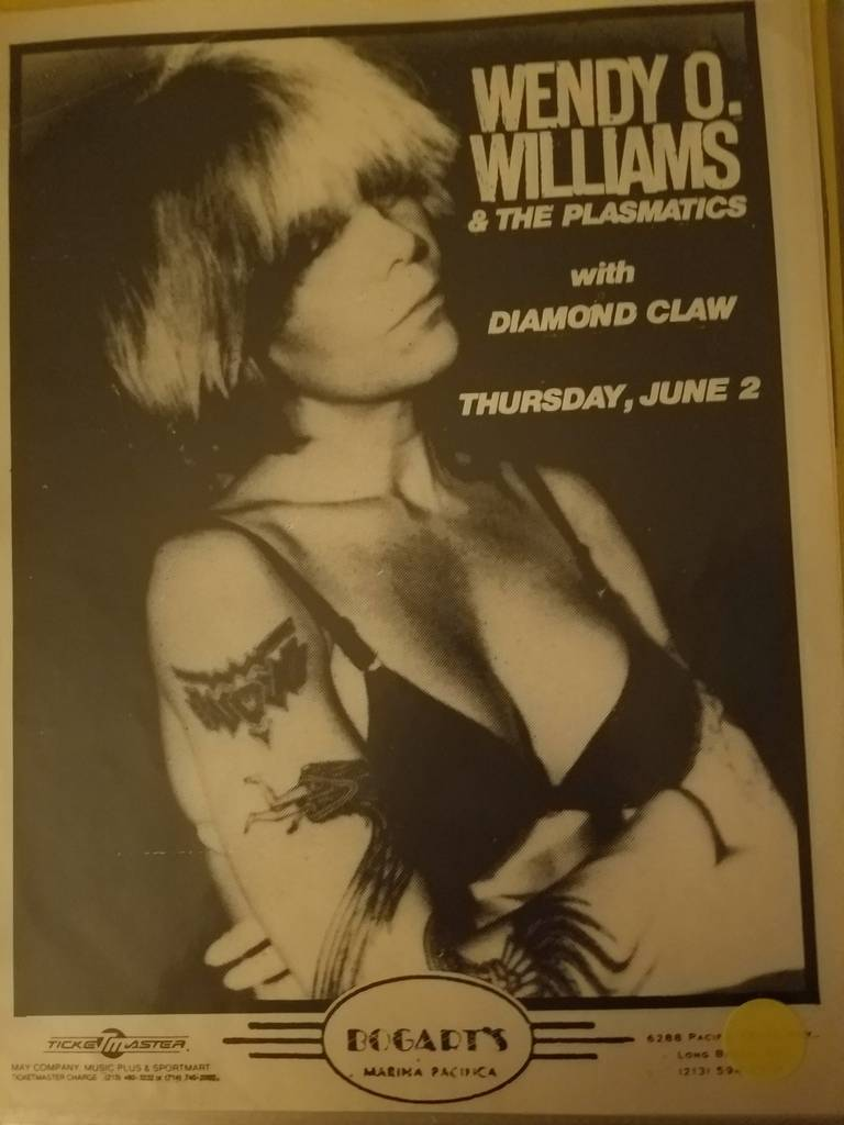 $20 PUNK FLYER - PLASMATICS