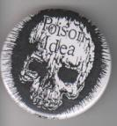POISON IDEA - LOGO big button