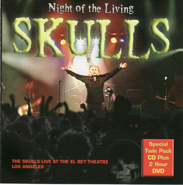 Skulls - Night Of The Living… 2Xcd / Dvd NEW CD