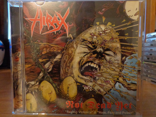 Hirax ‎- Not Dead Yet NEW CD