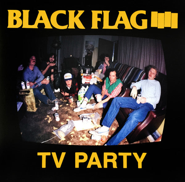 Black Flag ‎- TV Party NEW 7