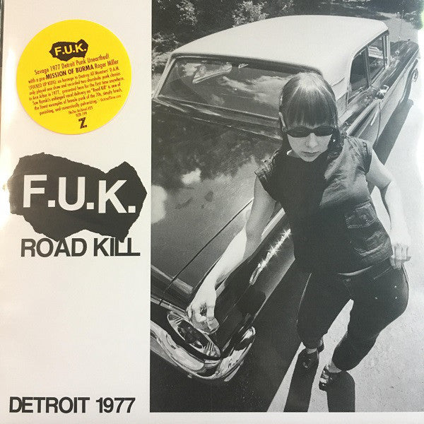 F.U.K. ‎- Road Kill b/w I Got A Head NEW 7