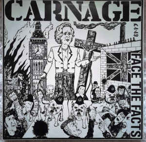 Carnage - Face The Facts USED LP