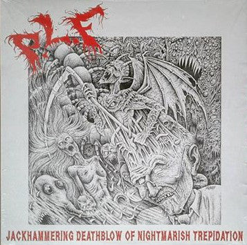P.L.F. ‎- Jackhammering Deathblow Of Nightmarish Trepidation NEW LP