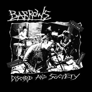 Barrows - Discord And Society NEW 7""