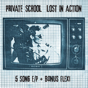 "Private School ‎- Lost In Action NEW 7"" + Flexi"
