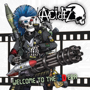 Acidez ‎- Welcome To The 3D Era NEW CD