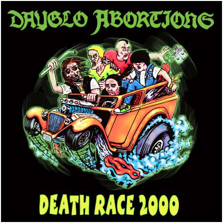 Dayglo Abortions - Death Race 2000 NEW LP