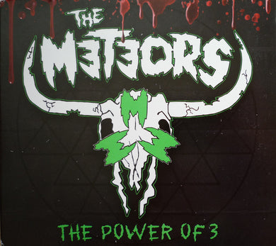 The Meteors - The Power Of 3 NEW CD