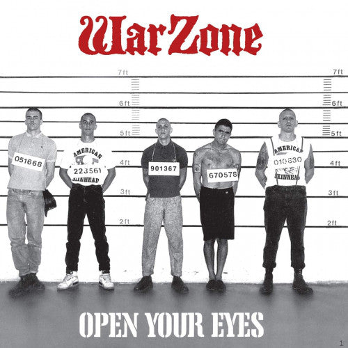 Warzone - Open Your Eyes NEW LP