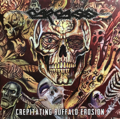 Carcass ‎- Crepitating Buffalo Erosion NEW METAL LP