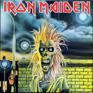 Iron Maiden - S/T USED METAL LP