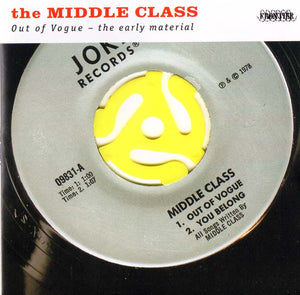 Middle Class - Out Of Vogue NEW CD