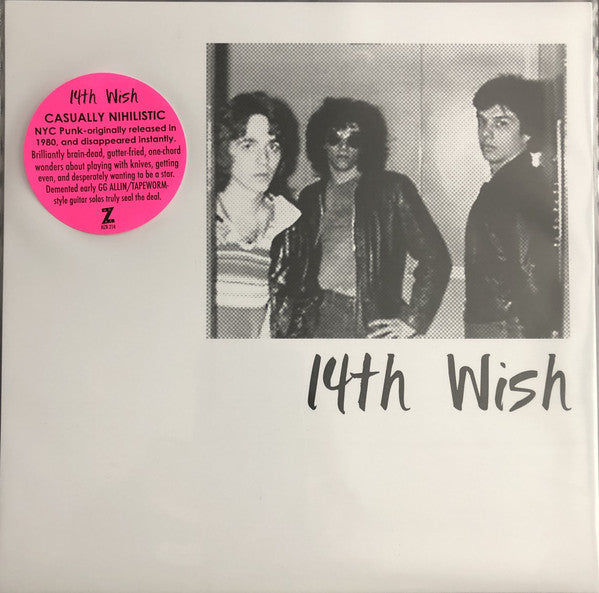 14th Wish ‎- 14th Wish / I Gotta Get Rid Of You NEW 7