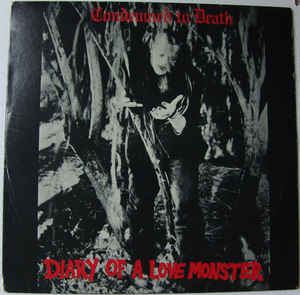 Condemned To Death - Diary Of A Love Monster NEW LP (black vinyl)
