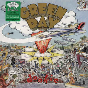 Green Day ‎- Dookie USED LP