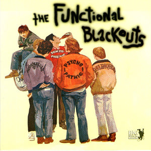 Functional Blackouts / Kk Rampage - Split NEW 7""