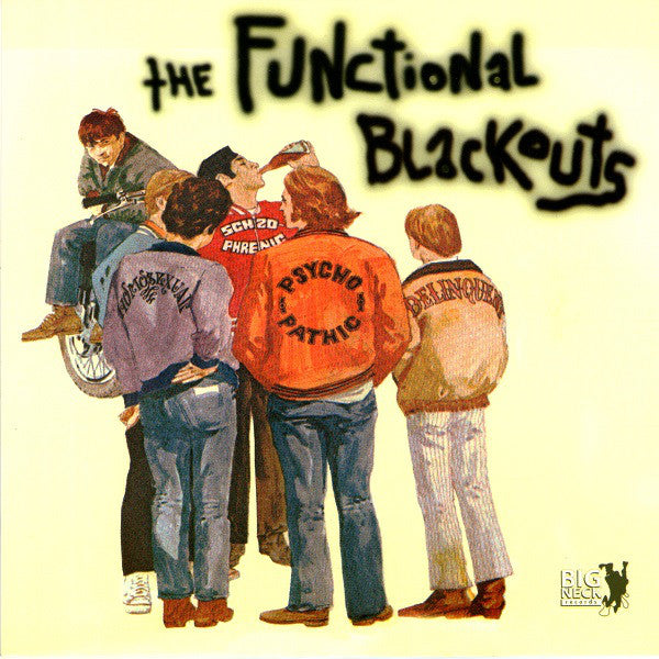 Functional Blackouts / Kk Rampage - Split NEW 7