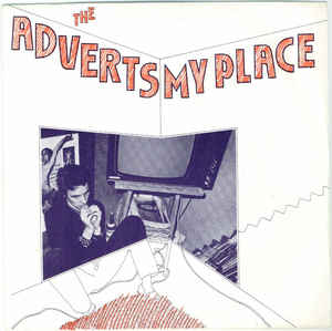 Adverts - my place USED 7""