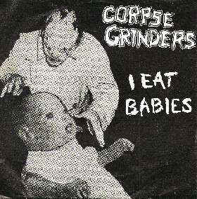 Corpse Grinders/Olympic Sideburns - Split USED 7""
