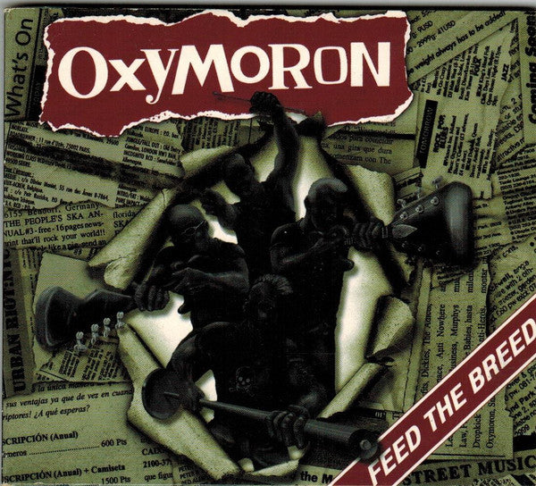 Oxymoron ‎- Feed The Breed (Combat Rock) NEW CD