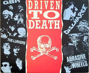 Comp - Driven To Death USED LP