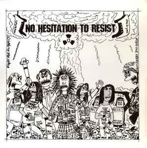Comp - No Hesitation To Resist USED 10""