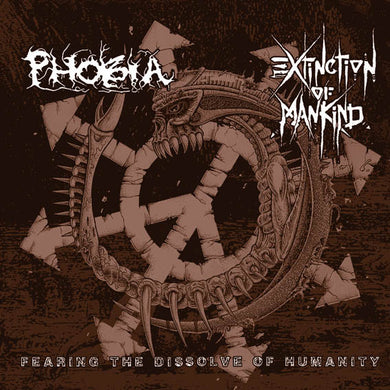 Phobia / Extinction Of Mankind - Split NEW CD