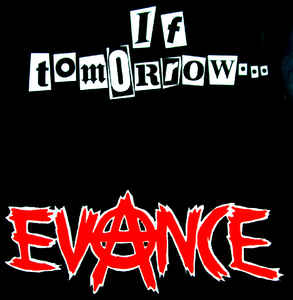 Evance - If Tomorrow USED 7""
