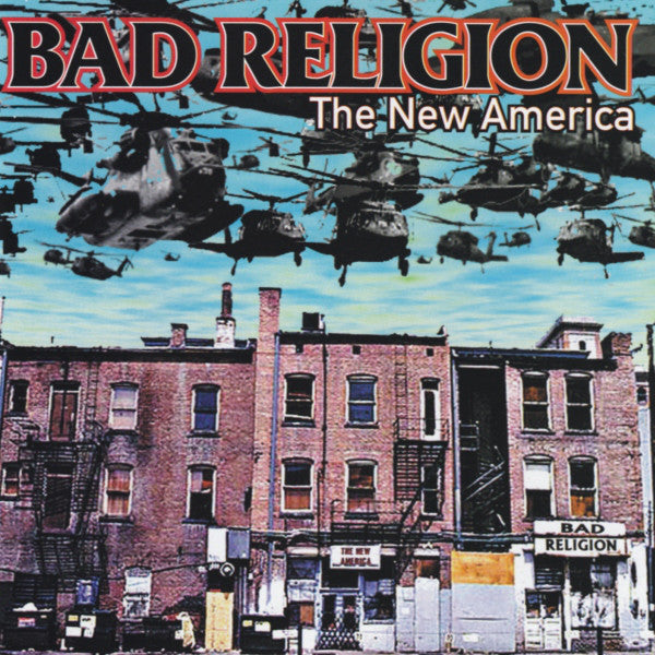Bad Religion ‎– The New America USED CD
