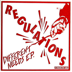 Regulations - Different Needs (Import) NEW 7""