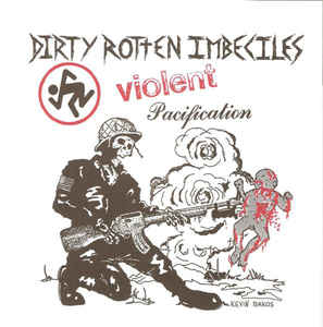 DRI ‎- Violent Pacification USED 7