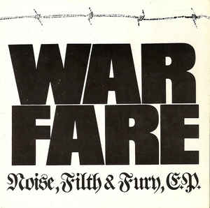 Warfare - Noise, Filth & Fury USED METAL 7