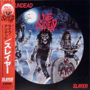 Slayer - Live Undead USED LP