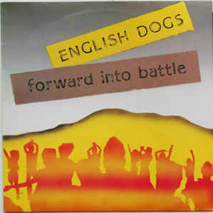 English Dogs - Forward Into Battle USED LP