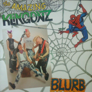 Klingonz ‎– Blurb USED LP