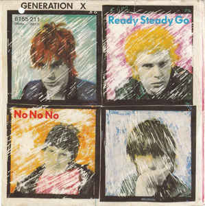 Generation X - Ready Steady Go USED 7