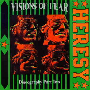 Heresy ‎- Visions Of Fear (Discography Part Two) USED LP