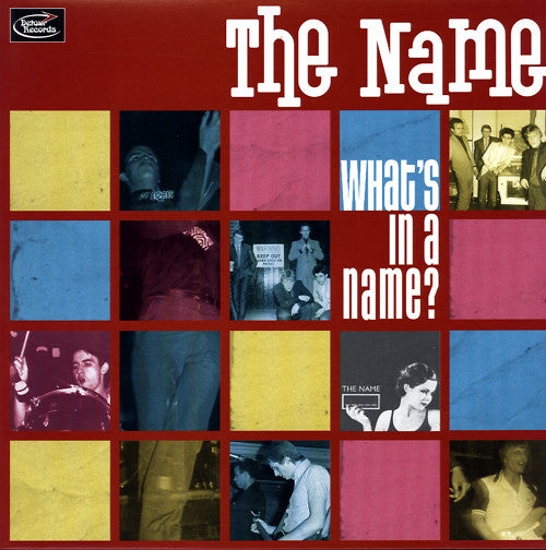 Name, The - What's In A Name NEW LP