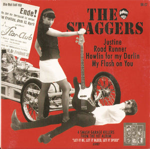 Staggers - Self Titled NEW 7""