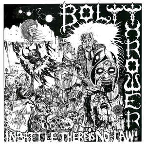Bolt Thrower - In Battle There Is No Law USED METAL LP