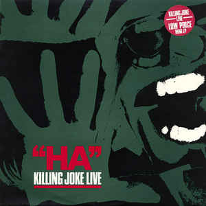 Killing Joke - Ha Killing Joke Live USED 10""