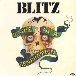 Blitz - Voice Of A Generation (green vinyl) NEW LP