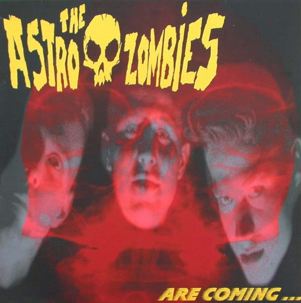 The Astro Zombies ‎– Are Coming...USED LP