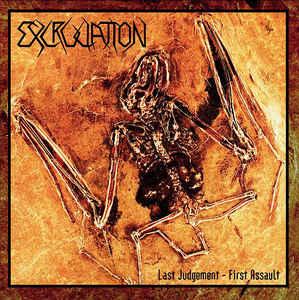 Excruciation ‎– Last Judgement First Assault USED METAL LP