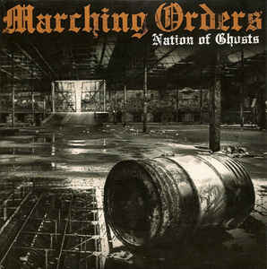 Marching Orders ‎- Nation Of Ghosts USED 7
